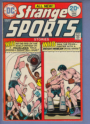 Strange Sports Stories 4 VF- (1974) DC Comic