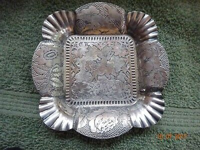 James Tufts Quadruple Plate  Angels Small Tray 41/2""