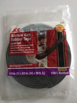ACE 51274 Narrow Gap Rubber Tape