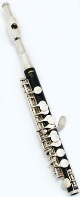 "YAMAHA YPC-32 ABS RESIN NICKEL SILVER ""C"" STANDARD PICCOLO w/ HARD CASE JAPAN"