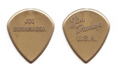 Joe Bonamassa Dunlop Jazz III Molded Gold Guitar Pick - 2014 Tour