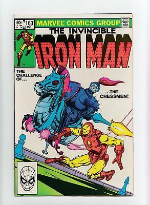 Iron Man #163 (Marvel 1982) NEAR MINT-