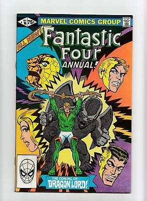 Fantastic Four Annual #16 (Marvel 1981) NEAR MINT