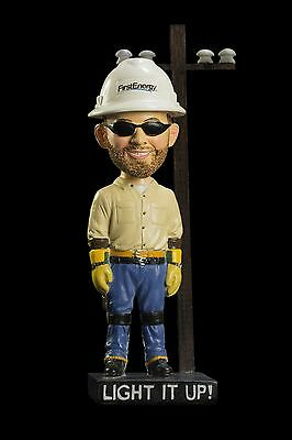 First Energy Lineman Bobblehead Ohio Toledo Potomac Edison West Penn Power Mon