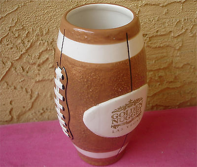 Golden Nugget Las Vegas Casino Football Shape Mug CSN