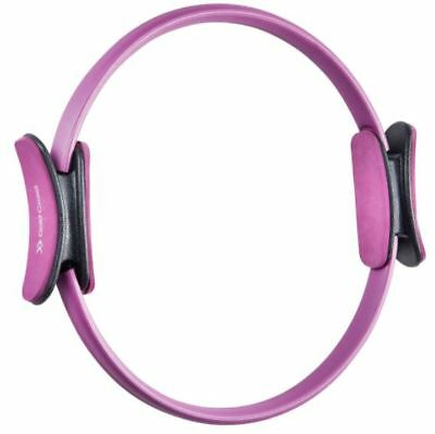 Pilates Resistance Ring Purple Pink Lightweight Portable Home Workout Kit  New