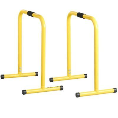 Parallel Workout Bars Press Up Dips Elbow Levers Stands Handles Steel Portable