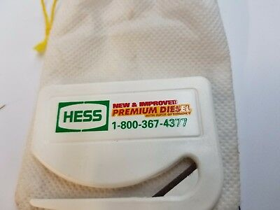 Hess 1993 PREMIUM DIESEL PROMOTIONAL LETTER OPENER RARE HARD TO FIND COLLECTIBLE