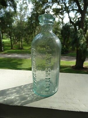 Lewis & Holt's Collodion Wet Plate Era Photographic Chemical Bottle