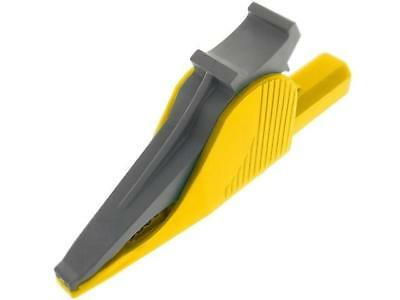 PJ5066-IEC-Y Crocodile clip 36A 1kVDC yellow Grip capacity max.41mm 5066-IEC-GE