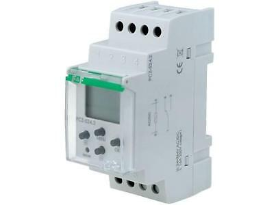 PCZ-524 Programmable time switch Range1 year SPDT 24÷264VAC DIN F AND F