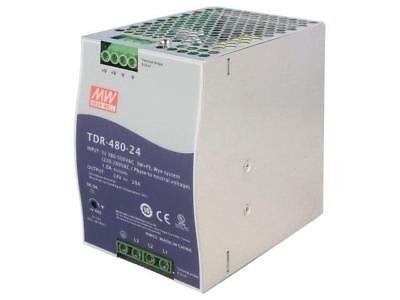 TDR-480-24 Pwr sup.unit switched-mode 480W 24VDC 20A 480÷780VDC MEANWELL