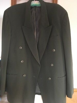 "v ~green lined Renoir"" cooler weather weather suit jacket only size 40"