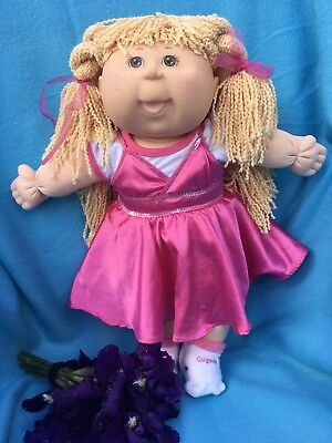 REDUCED WAS 129.90 Tru Cabbage Patch In GORGEOUS clothing 😍 In MINT CONDITION