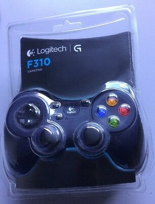 Logitech F310 Wired PC Gamepad PC AS NEW