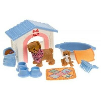Fisher Price Loving Family Dollhouse Furniture Puppy Playtime Set
