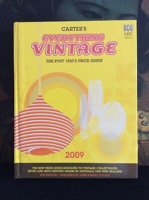 Carters Everything Vintage 2009 4th Edition Price Guide 1950's And Beyond