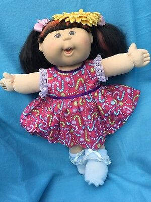 Play Along ASIAN Cabbage Patch Doll In Christmas Outfit Sold For A Bargain