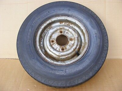 Mini Wheel Trailer Wheel And Tyre Tyre On A Mini Wheel 4 Inch Pcd