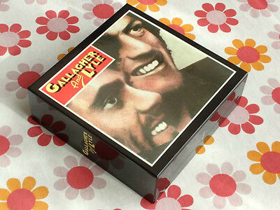 GALLAGHER AND LYLE PROMO EMPTY BOX Japan mini lp cd