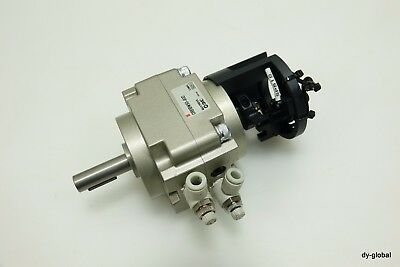 SMC Used CRB1BW50-90D ROTARY ACTUATOR CYLINDER 90 degree CYL-ROT-I-63=2LX3