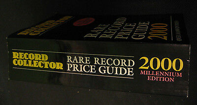 RECORD COLLECTOR UK Rare Record Price Guide 2000 Edition LP 45 1500 pg 100k item