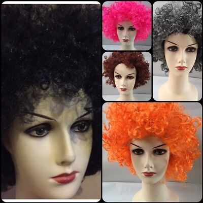 Rasta Wig CURLY AFRO WIG 70's 80's DISCO FANCY DRESS MENS/LADIES COSPLAY COSTUME