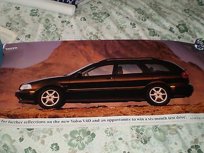 1996 Large Car Posters VOLVO Models S40 and V40