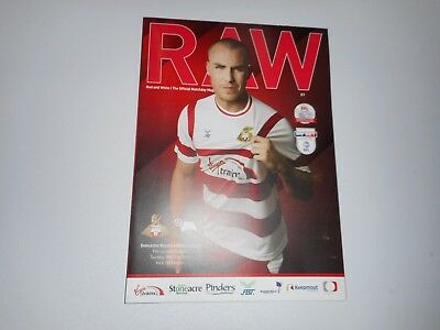 DONCASTER ROVERS  v   DERBY COUNTY 2017/18  PRE-SEASON FRIENDLY ~ JULY 18th