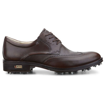 NEW Mens ECCO World Class Hydromax Golf Shoes Brown US 7-7.5 EU 41 R
