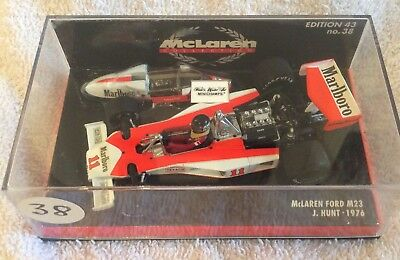 minichamps 1:43. MCLAREN M23 JAMES HUNT