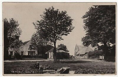 Doncaster Rotophoto Co. Real Photo Postcard Of Tetney,  Lincolnshire Posted 1920