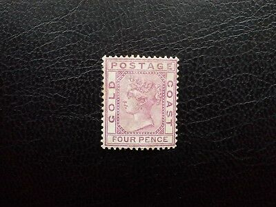 Gold Coast 1884 MH SG #7