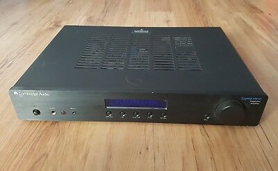 Cambridge Audio Topaz AM10 Integrated Amplifier With Phono Staging + Ipod dock