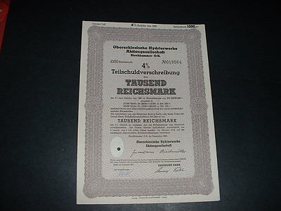 Original Germany /blechhammer Camp Occupation Of Poland Embossed State Seal
