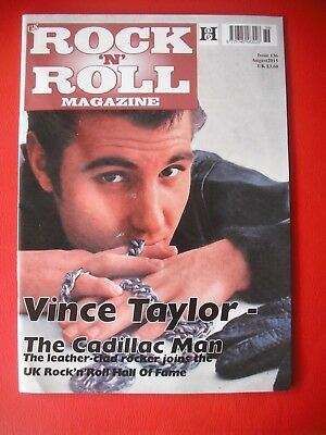 Vince Taylor ; Rock and Roll Magazine (august, 2015)