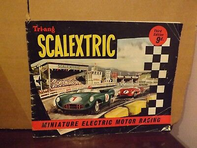 TRIANG SCALEXTRIC CATALOGUE 3rd EDITION 1962...