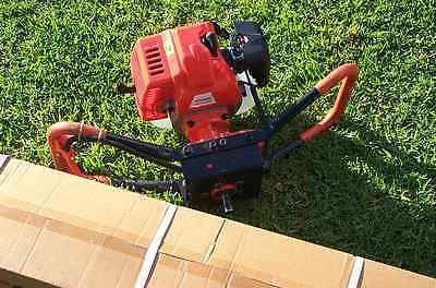 Dynamic power- Post hole digger 52 cc  NEW 200mm AUGER. Knox P/up