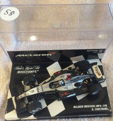 minichamps 1:43. MCLAREN MP4/19b.  D COULTHARD
