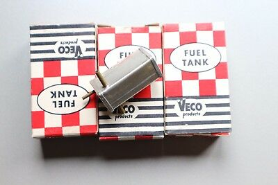 Three Veco  Control Line Fuel Tanks in boxes .5oz (about 15cc)