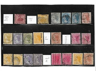 Western Australia Swan Selection, 21 Stamps, Fine Used