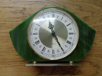 Vintage, Retro, Mantle Clock, by Westclox, Made in Scotland good working order