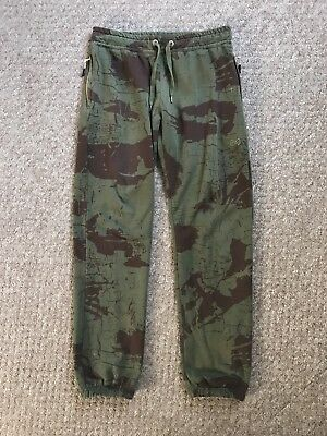 Navitas Angling Camo Joggers / Sweatpants. Size Large / Medium , Carp Fishing