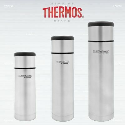 Thermos Thermocafe Flat Top Stainless Steel Flask