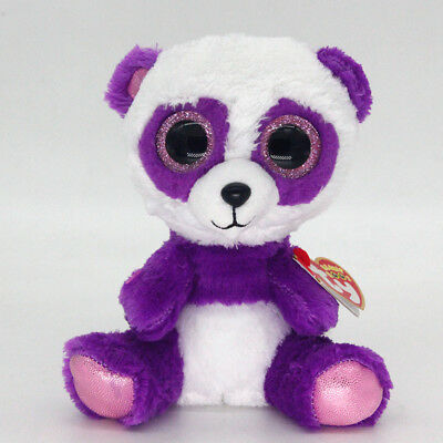 "6"" Ty Beanie Boos BOOM BOOM Stuffed Plush Toy Soft Animals Toy Boys&Girls Dolls"
