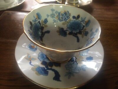 Staffordshire Cup And Saucer