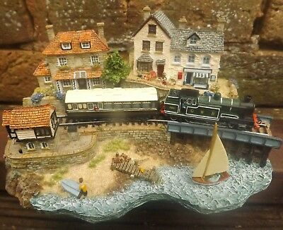 "Danbury Mint Country Lines / Jane Hart ""Seaside Special"""