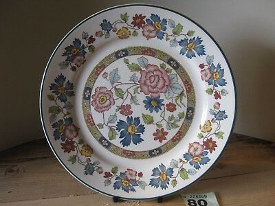 Franciscan Orient Dynasty Collection Large Dinner Plate Floral Design
