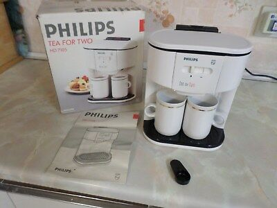 Philips Tea For Two Teamaker / Teasmade HD7105