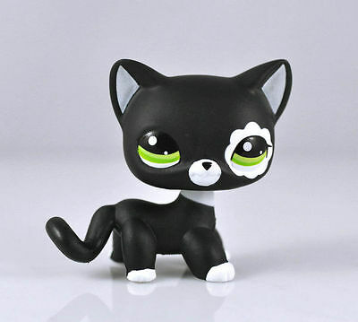 Littlest Pet Short Hair Cat Animal child girl boy figure loose cute LPS835